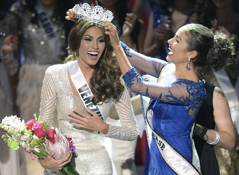 Miss Venezuela crowned Miss Universe 2013